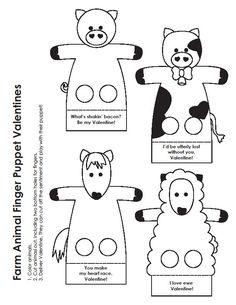 Moldes-de-Dedoches-de-Animais-para-Imprimir-5.jpg (612×792)