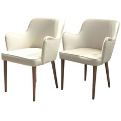 1950s Osvaldo Borsani Armchairs | From a unique collection of antique and modern armchairs at https://www.1stdibs.com/furniture/seating/armchairs/