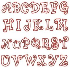cute alphabet fonts - Google Search