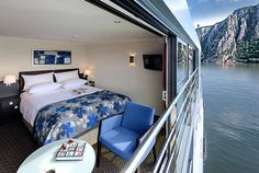 Avalon River Cruise Ships built around you. This is what I will be in during my Springtime in Paris 2015. This is one cabin left.