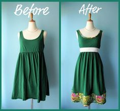 refashioned vintage clothes | The Ultimate List: 50 Upcycle / Refashion Projects To Inspire You ...