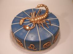 Scorpion Birthday Cake |