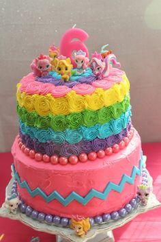 Palace Pets birthday cake
