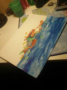 Dragon des mers. Inspi fête des lumières lyon