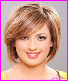cool Short haircuts for chubby women