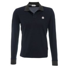 Moncler Poloshirt Navy