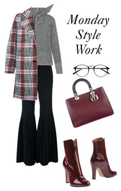 """Sin título #747"" by maricelmartinez on Polyvore featuring moda, STELLA McCARTNEY, Isabel Marant, Christian Dior, Valentino y Carven"