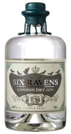 Six Ravens Gin (1 x 0.5 l)