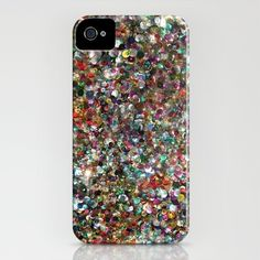 Sequin Spill IPHONE CASE / IPHONE (4S, 4)