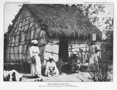 lati-negros:  Negro house in Porto Rico. (1907) via @digitalnypl @schomburgcenter