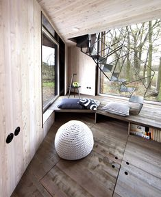 Modernistic Wooden House Zilvar