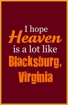 Heaven, Blacksburg VA Art Print