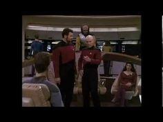 "Captain Picard sings  ""Make It So!"""