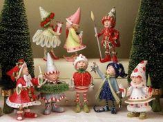 Dash Away Reindeer Fairy Elfs