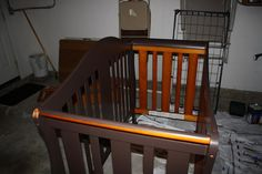 SEARCHING...: Tutorial: How to paint and seal a crib.