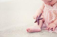Starfish and chubby feet.
