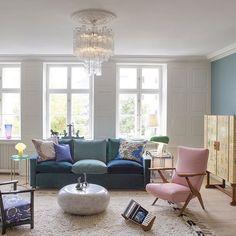 The Apartment interieur #joseffrank #svensktenn #mccollinbryan #muranolighting #achilecastiglioni #snoopylight #carlauböck #arjegriegst #welove #theapartmentdk