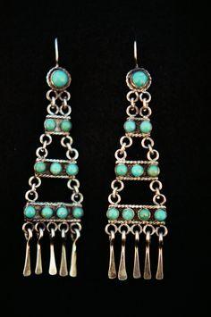 RL earrings by Carlos Santa FE