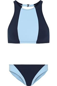 21 Swimsuits That Are Already On Sale #refinery29  http://www.refinery29.com/2016/05/109703/best-swimsuits-on-sale-summer-2016#slide-20  These colored panels hit in all the right places.Flagpole Swim Celine Color-Block Bikini, $390 $156, available at The Outnet....