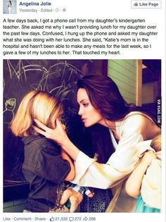 Angelina Jolie's Daughter Faith In Humanity Sweet Stories, Cute Stories, Sad Love Stories, Happy Stories, Beautiful Stories, Beautiful Artwork, Retro Humor, Human Kindness, Touching Stories