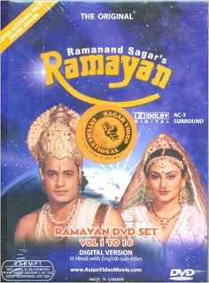 Ramayana: The Complete Series: Ramanand Sagar, Arun Govil, Deepika, Dara Singh, Arvind Trivedi: 0400003116515: Amazon.com: Books