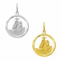 Medalha em Ouro de Batismo - Vazada