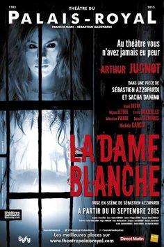 Dame Blanche - Théâtre du Palais Royal - Arthur Jugnot