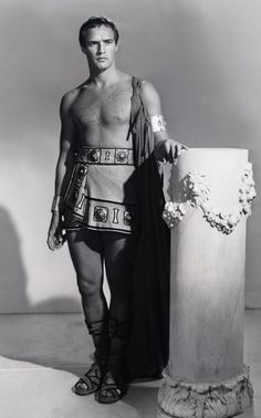 Marlon Brando as 'Marc Antony' in Julius Caesar (1953)
