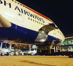 By amirrulsambora on Instagram: British Airways  Boeing 747