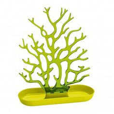 Schmuckorganizer Cora solid senf/transparent oliv