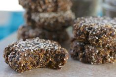 raw vegan fig cookie bite, feastingonfruit.com