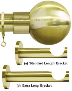 Westminster 35mm Satin Brass Pole Set with Sphere finials  Ref: H6036F/SB Westminster 35mm Satin Brass Pole Set with Sphere finials  £99.95 (Including VAT at 20%)