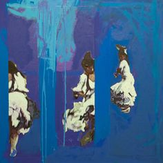 "Saatchi Online Artist: Krystyna Malinowska; Mixed Media, 2011, Painting ""Flamenco"""