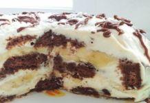 Netradiční perníkový dort připravený pouze ze 4 přísad a bez pečení!