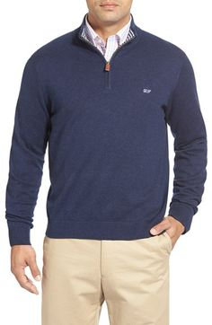 Vineyard Vines Quarter Zip Pullover available at #Nordstrom