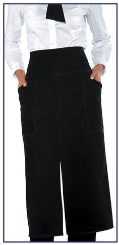 Grembiule Con Spacco Uomo Donna Ristoranti Pizzerie Nero Waist Skirt, High Waisted Skirt, Skirts, Fashion, Moda, High Waist Skirt, Fashion Styles, Skirt