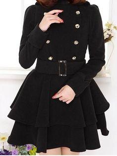 Long Sleeve Trench Coat Trench Coats from fashionmia.com