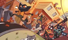 I'll try to do a little more random pics this year, starting with one of the last games I played in 2017 that turned out to be one of my favorites: Night in the Woods! Mae Borowski, Video Game Art, Video Games, Night In The Wood, Fan Art, Indie Games, The Villain, Pretty Art, Furry Art