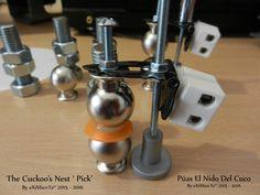 Púas de guitarra y Bajo El Nido Del Cuco By eXiMienTa® 2015 - 2016 The Cuckoo's Nest 'Pick'