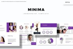 Minima - Powerpoint Template- Premade color variation color ) Get it now!, an great Powerpoint template for multipurpose presentation business or personal Business Presentation, Presentation Templates, Infographic Powerpoint, Best Templates, Keynote, Your Image, Software, Custom Design, Creative