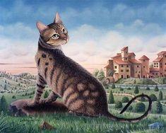 Bernard Vercruyce - Le chat de Paul Guiguou