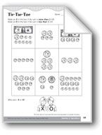 Tic-Tac-Toe (Money Values and Equivalent Amounts). Download it at Examville.com - The Education Marketplace. #scholastic #kidsbooks @Karen Echols #teachers #teaching #elementaryschools #teachercreated #ebooks #books #education #classrooms #commoncore #examville
