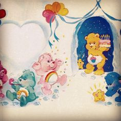 Classic Care Bears Party!