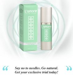 Lamore Skin Care Serum does have the performing ingredients extracted from plants and herbs. Considering this facts, thus, you can consider this skin care formula as potent. Aging Process, Serum, It Works, Perfume Bottles, Skincare, Facts, Type, Classic, Beauty