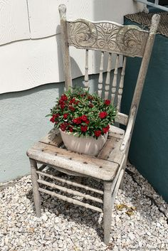 7 items to repurpose as yard decor-here are some ideas for items you can repurpose in your yard! farmgirlreformed.com