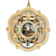 2005 White House Christmas Ornament, The South Facade - Ornaments - Christmas | The White House Historical Association