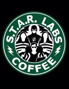 Star Labs coffee 'The Flash' Batwoman, Nightwing, Arrow Flash, O Flash, Flash Art, The Flashpoint, Heros Comics, Flash Funny, Flash Wallpaper