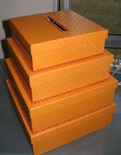 Steps on DIY card box
