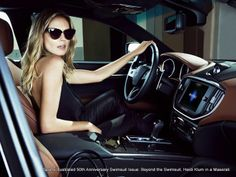 Maserati picks heidi klum to spice up its models in sports illustrated media gallery. featuring 5 maserati picks heidi klum to spice up its models in (. Maserati Car, Heidi Klum, Maserati Ghibli, Cartier Tank, Maserati Interior, Pilates, Pose, Luxury Lifestyle Women, Models