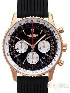 Breitling Navitimer 01 RB012012.BA49.272S.R20D.3 Rotgold Kautschuk